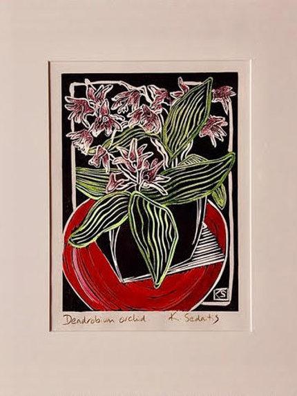 Dendrobium Orchid - Karen Sedaitis