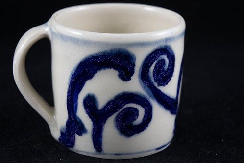 Blue & White Cups 4 - Anneke Paijmans