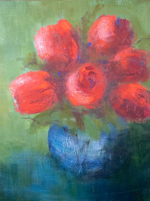 Red Tulips - Katherine Blashki