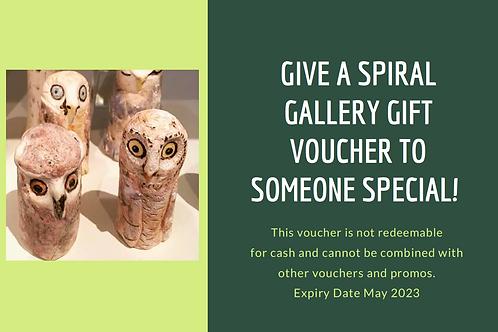 Spiral Gallery Gift Voucher $100