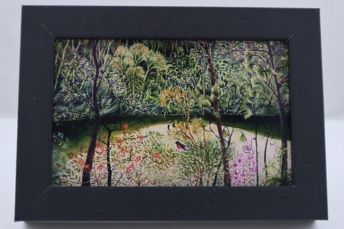 Little Landscapes, Pink Robin - Anneke Paijmans