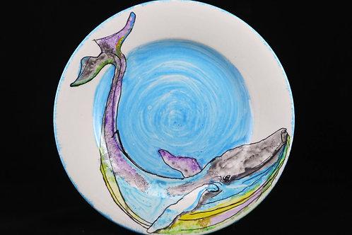 Whale Plate 2 - Zoe Burke