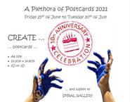Plethora opf Postcards - 10th Annual