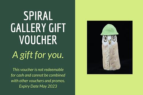 Spiral Gallery Gift Voucher $30