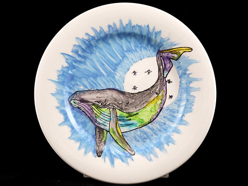 Whale Plate 1- Zoe Burke