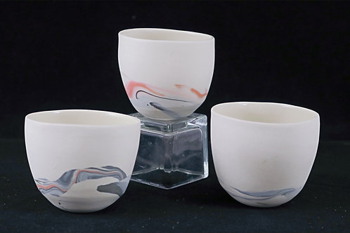 Clasper Cups, Black and Orange - Rachel Annabel