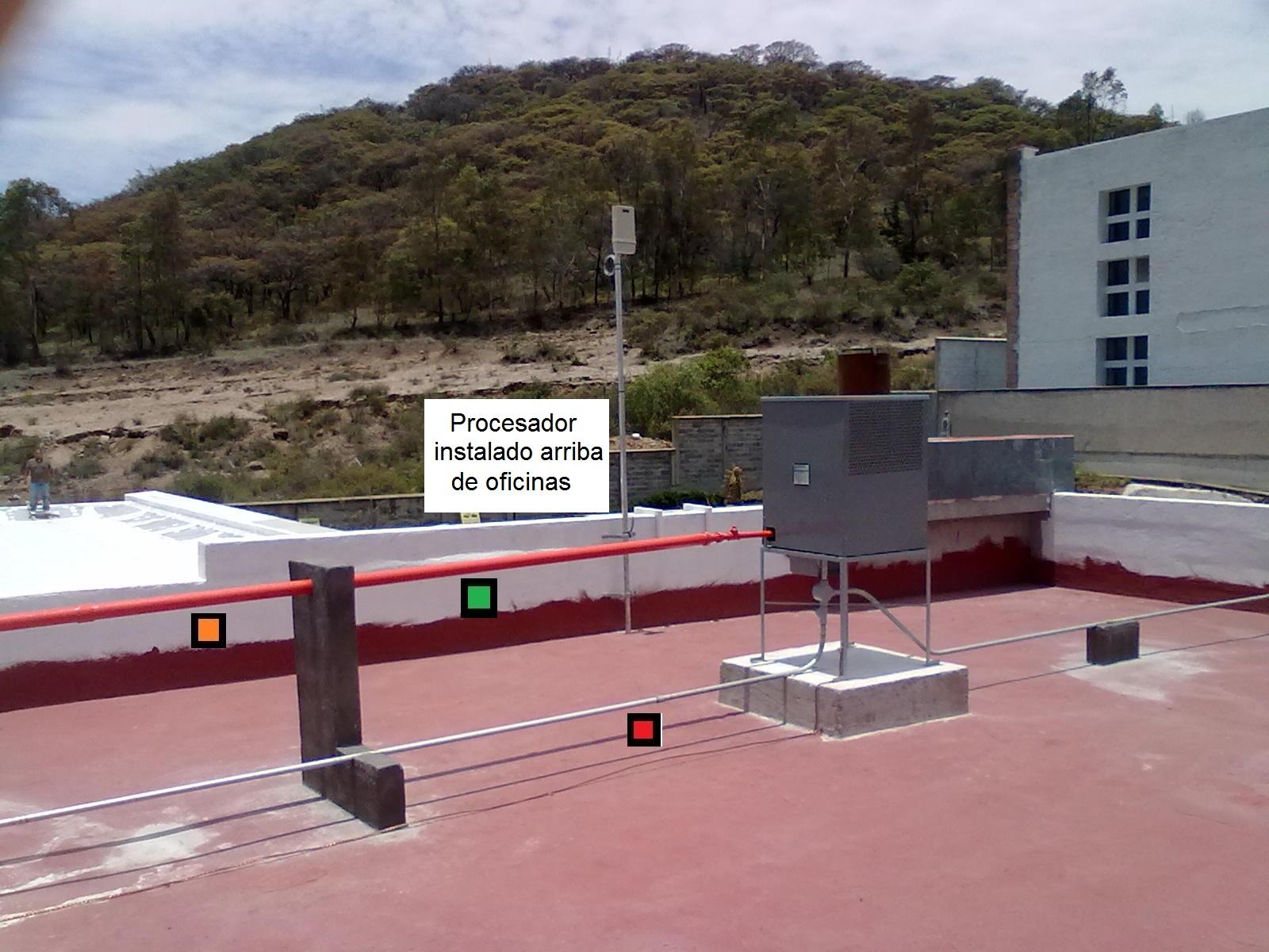 procesador en estacion de servicio