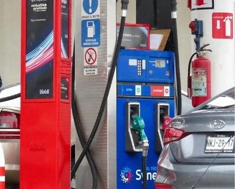 equipo para gasolineras