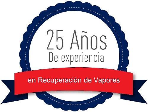 experiencia en recuperacion de vapores