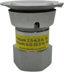 """Válvula de Presión / Vacío EMCO A0084 de 2"""""""