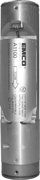 Válvula prevención de sobrellenado EMCO A1100EVR
