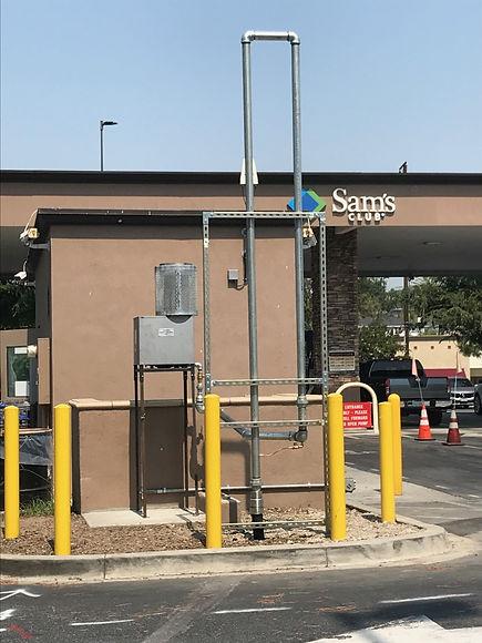 gasolinera que cuida el medio ambiente