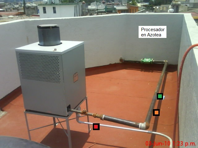 Instalacion recuperacion de vapores