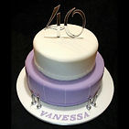 Vanessa's Gluten Free 40th Birthday Cake