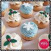 Mini Christmas Cupcakes