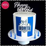 North Melbourne Kangaroos 60th Birthday cake