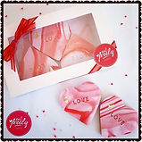 Personalised Valentine's Cookie Gift Boxes