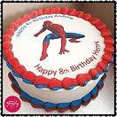Gluten Free, Dairy Free, Nut Free Spiderman Chocolate Cake