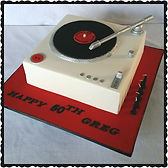 Gluten Free Record Player Cake