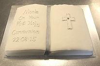 Nicola's Gluten Free Communion Cake