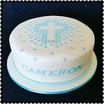 Cameron's Communion Cake