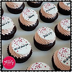 Mini Bridal Shower Cupcakes