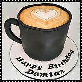 Damian's Coffee Cup Cake