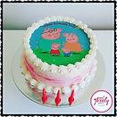 Gluten Free and Dairy Free Peppa Pig Cake