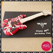 EVH Guitar Cake