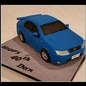 Dan's Car Cake