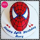 Gluten Free Spiderman Chocolate Mud Cake