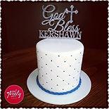 Kershawn's White Mud First Communion Cake