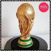 World Cup Trophy Cake