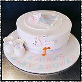 Gluten Free Baby Shower Cake