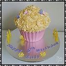 Giant Gluten Free Cupcake