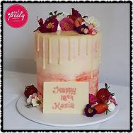 18th Birthday Drip Cake