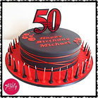 50th Essendon Cake