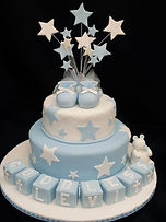 Gluten Free Baptism Christening Cake