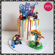 Gluten free Wiggles Drip Cake