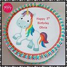 Unicorn picture cake