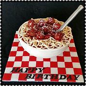 Gluten Free Spaghetti Bowl Cake