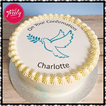 Charlotte's Confirmation Cake