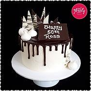 Gluten Free Chocolate mud drip cake