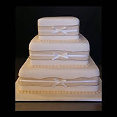 Gluten Free Allergy Friendly Low FODMAP 3 tier wedding cake