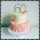 60th SMBC Ruffle Cake