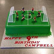 Gluten Free Soccer Cake