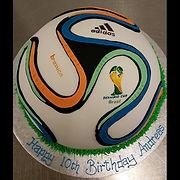 Brazuka World Cup Soccer Ball Cak
