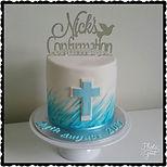 Nick's Gluten Free Confirmation Cake