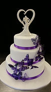 Gluten Free Butterfly Wedding Cake