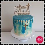 Alyssa's First Communion Cake